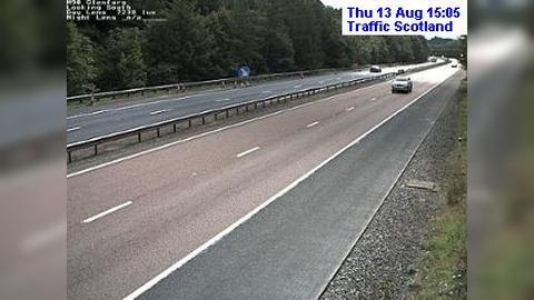 Webcam Perth: M90 Glenfarg (South) live traffic camera −