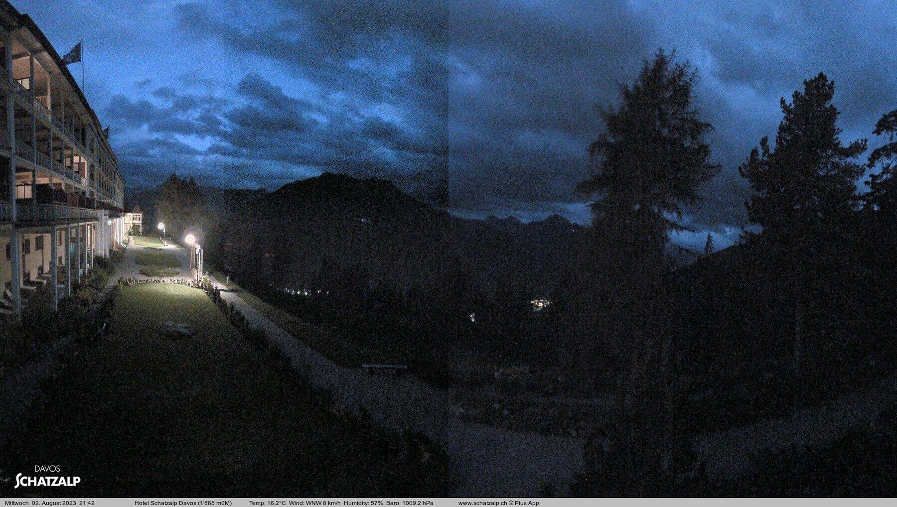 Davos: Schatzalp Panorama Hotel