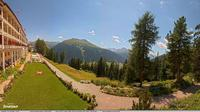 Davos: Schatzalp Panorama Hotel - Day time