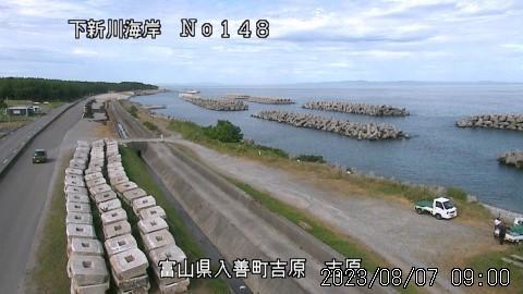 Webcam Nishi-kurobe: Toyama − Kurobe − Yoshiwara