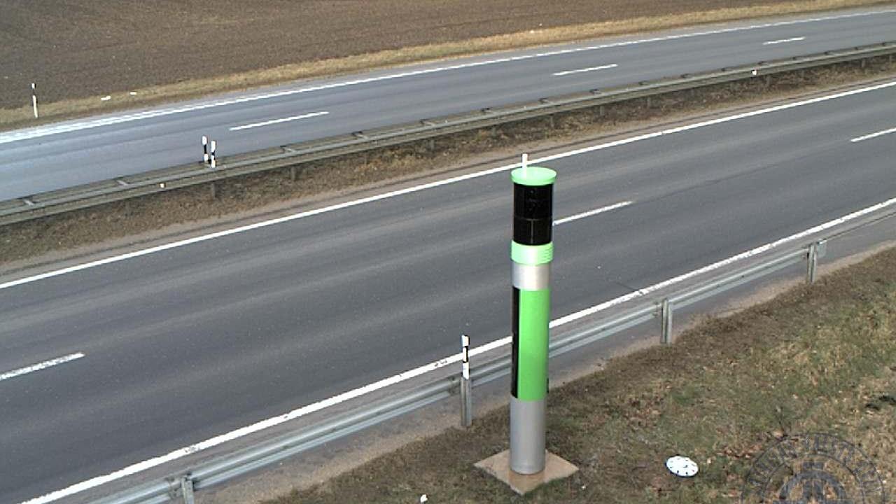 Webcam Saulkalne: A6 autoceļš 22km