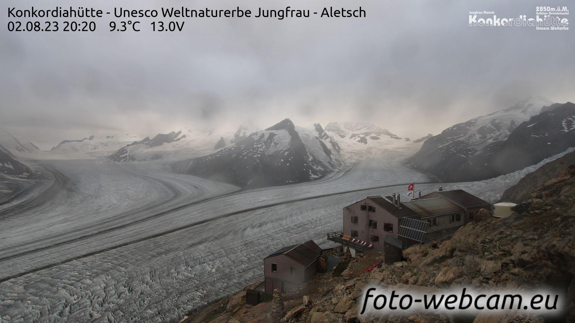 Fieschertal: Konkordiahütte - Trugberg - Gletscherhorn - Jungfraujoch - Hollandiahütte SAC - Ebnefluh - Jungfrau - Jungfrau Region