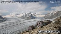 Fieschertal: Konkordiah�tte - Trugberg - Gletscherhorn - Jungfraujoch - Hollandiah�tte SAC - Ebnefluh - Jungfrau - Jungfrau Region - Day time