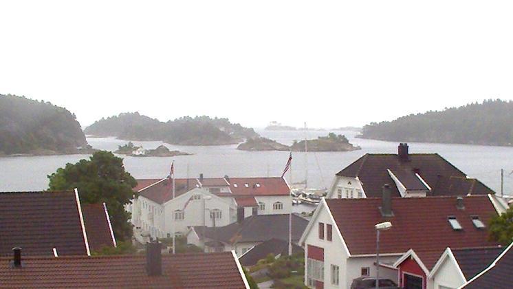 Webcam Lillesand: Innseilingen