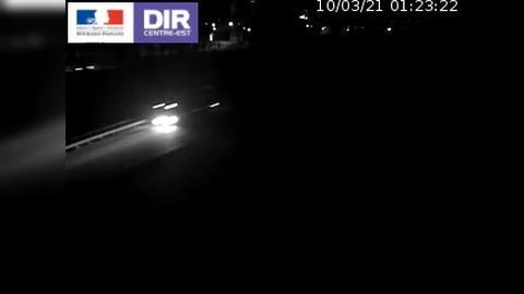 Caméra routière à hauteur de la sortie 15 Chambéry-centre au PK 4,103 en direction d'Albertville