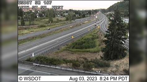 Webcam Algona: SR 167: 15th St SW, West