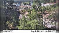 Spokane > North: SR  at MP .: Charles Road () - Day time