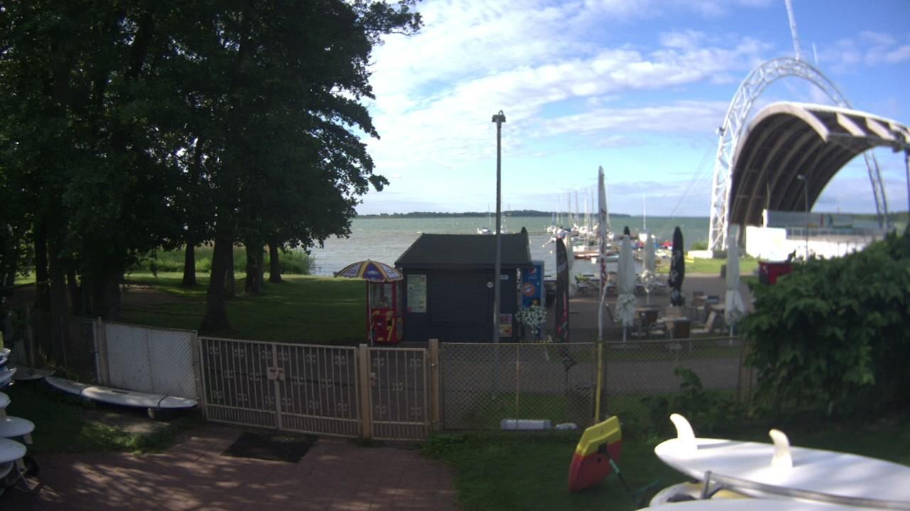 Webcam Miedwie: Family Windsurfing