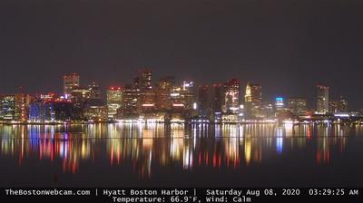 Boston › Sud-ouest: Harbor - Massachusetts - city skyline and