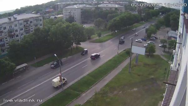 Webkamera Ussuriysk: Владивостокское шоссе − Стаханова