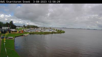 Vue webcam de jour à partir de Snitser Mar › North East
