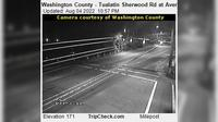 Tualatin: Washington County - Sherwood Rd at Avery St - Actuales