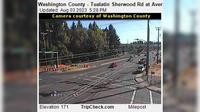 Tualatin: Washington County - Sherwood Rd at Avery St - Current