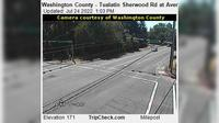 Tualatin: Washington County - Sherwood Rd at Avery St - El día
