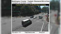 Tualatin: Washington County - Sherwood Rd at Avery St - Dia