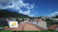 Gagliano Aterno > North: con sfondo monte San Nicola del gruppo M. Sirente - Dagtid