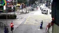 Macau: Rampa dos Cavaleiros - Rua de Francisco Xavier Pereira - Actuelle