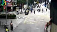 Macau: Rampa dos Cavaleiros - Rua de Francisco Xavier Pereira - Day time