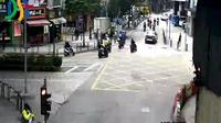 Macau: Rampa dos Cavaleiros - Rua de Francisco Xavier Pereira - Jour