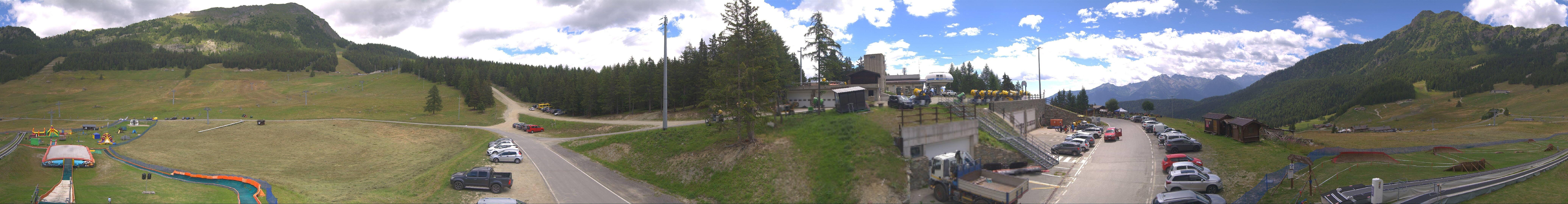 Torgnon: Cervinia - Chantorne Skiarena