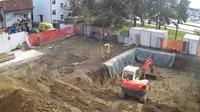 Bjelovar: Construction Site - General Hospital, New Building - Overdag