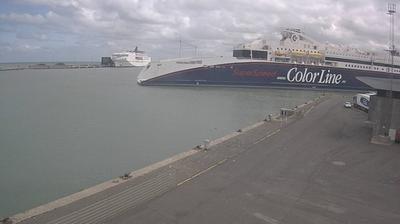 Tageslicht webcam ansicht von Hirtshals: Havn