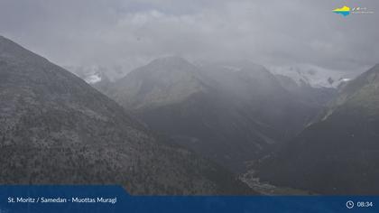 Sankt Moritz: Muottas Muragl, Oberengadiner Seenlandschaft