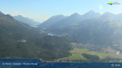 Sankt Moritz: St. Moritz - Muottas Muragl, Oberengadiner Seenlandschaft