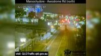 Maroochydore: Aerodrome Road - adjacant to Caltex Service Station (looking north) - Current