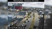 Maroochydore: Aerodrome Road - adjacant to Caltex Service Station (looking north) - El día