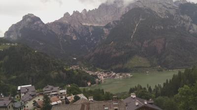 Daylight webcam view from Alleghe: e monte Civetta