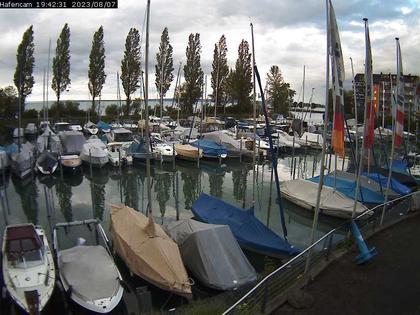 Rorschacherberg: Bootshafen Hörnlibuck
