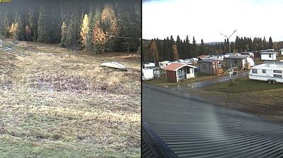 Webcam Högrun: Åkersjön, Camping Slalombacke