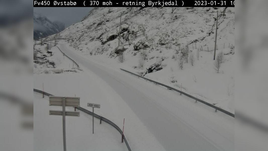 Webkamera Østabø: F45 Øvstabø (370 moh)