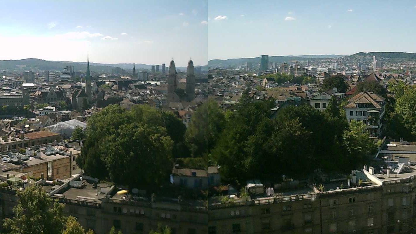 Webkamera Zurich: Panorama