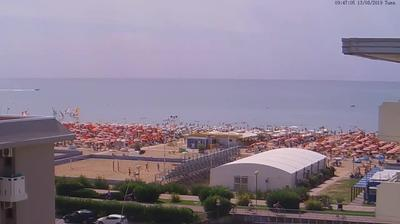 Webcam Bibione: Playa Hotel
