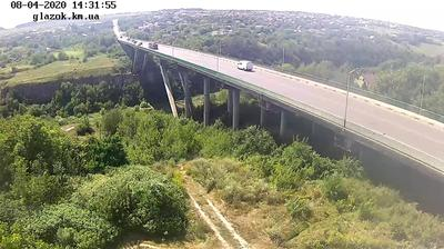 Tageslicht webcam ansicht von Kamyanets Podilsky › South West: Khmelnytskyi − Bridge