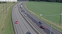 Hovsta: Kameran �r placerad p� E/E S�dert�ljev�gen mellan Bornsj�n och trafikplats Hallunda och �r riktad mot Stockholm - El día