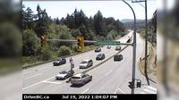Mill Bay > South: , Hwy  at Shawnigan - Rd, looking south - El día