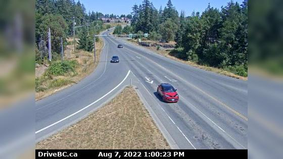 Веб-камера Departure Bay › East: Hwy 19 at Northfield Rd in N