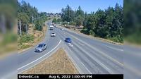 Nanaimo > East: Hwy  at Northfield Rd in - looking east - Day time
