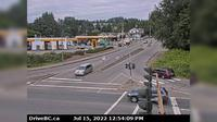 Port Coquitlam > North: , Hwy B (Mary Hill Bypass), at Pitt River Rd, looking north - Overdag