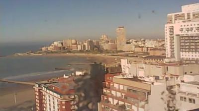 Vista de cámara web de luz diurna desde Mar del Plata › South East