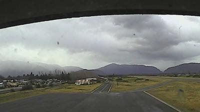 Vista de cámara web de luz diurna desde Cabo 1° Juan Román Airport › East