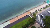 Piran: Webcam Bernardin Grand Hotel - El día
