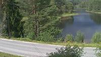 Prestestranda > West: Drangedal - Telemark fylke - Tveitvannet - Overdag