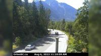 Harrison Hot Springs › West: , Hwy , near Herrling Island, looking west