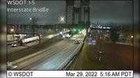 Officers Row: I- at MP .: Interstate Bridge - Overdag