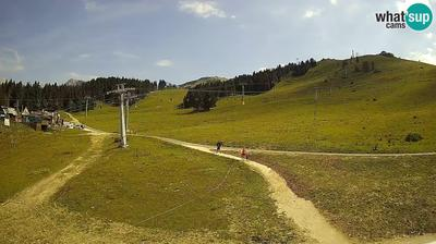 Spletna kamera Kriska planina: Krvavec Ski Center - funicular station - Meteo