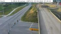 Council Bluffs: CB - I- @ I- Interchange () - Day time